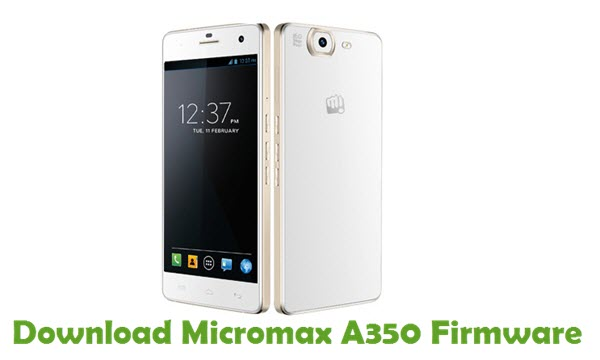 Download Micromax A350 Firmware