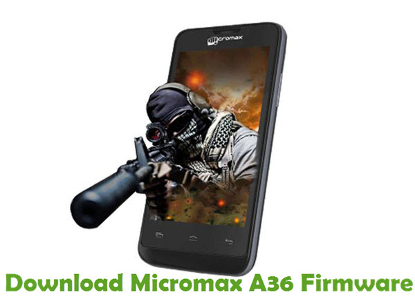 Download Micromax A36 Firmware
