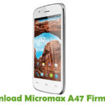Micromax A47 Firmware