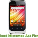 Micromax A51 Firmware