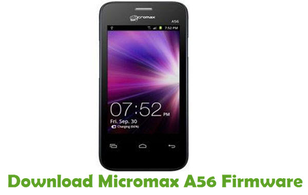 Download Micromax A56 Firmware