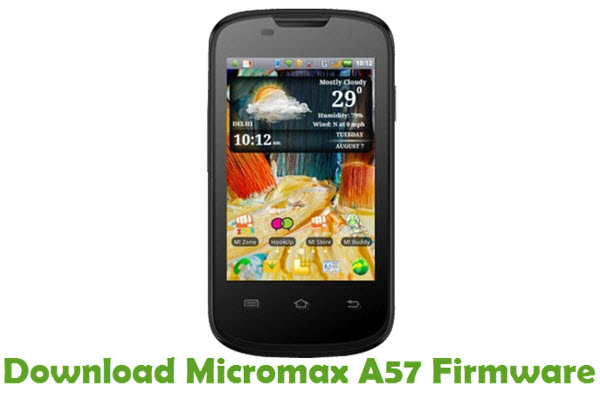 Download Micromax A57 Firmware
