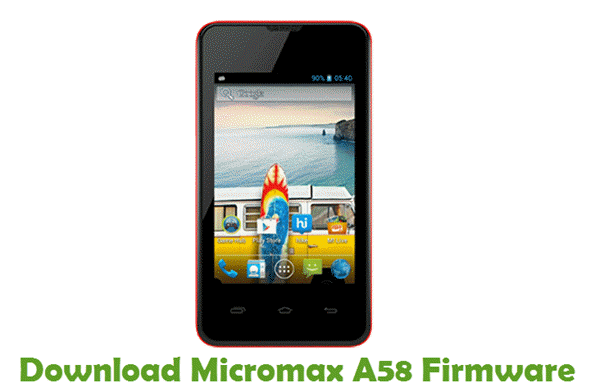 Download Micromax A58 Firmware