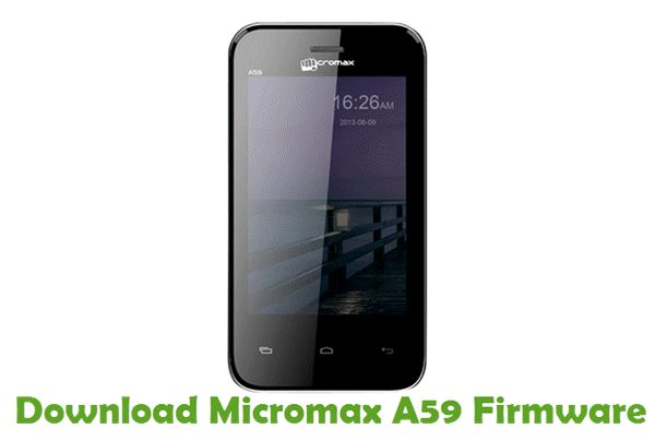 Download Micromax A59 Firmware