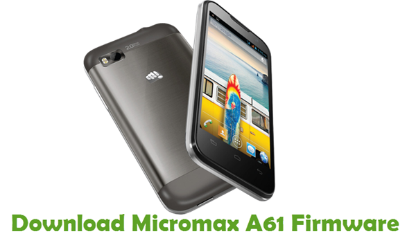 Download Micromax A61 Firmware