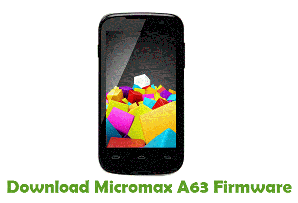 Download Micromax A63 Firmware
