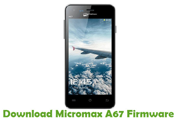 Download Micromax A67 Firmware
