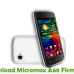 Micromax A68 Firmware