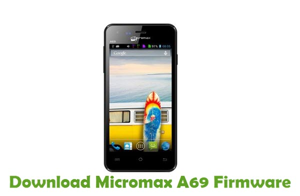 Download Micromax A69 Firmware