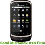 Micromax A70 Firmware