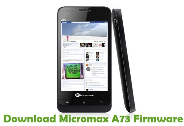Download Micromax A73 Firmware