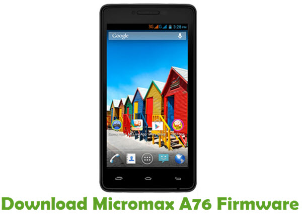 Download Micromax A76 Firmware