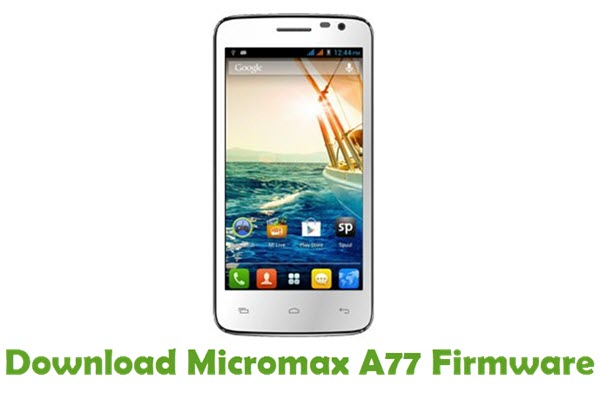Download Micromax A77 Firmware