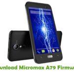 Micromax A79 Firmware