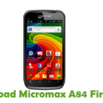 Micromax A84 Firmware