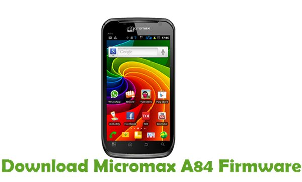 Download Micromax A84 Firmware