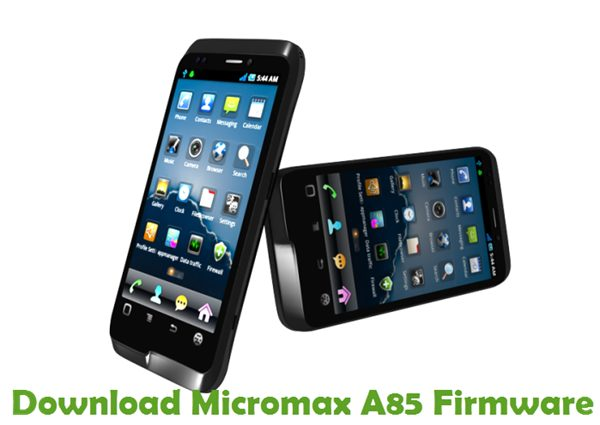 Download Micromax A85 Firmware