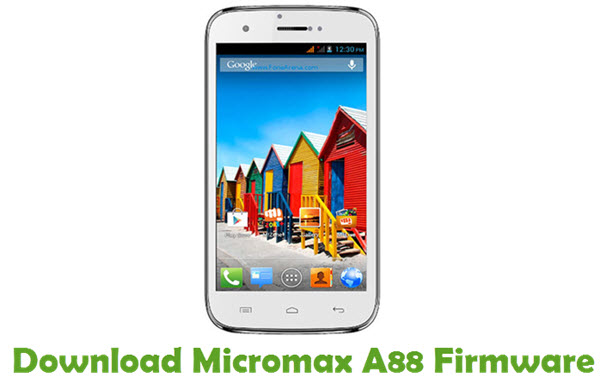 Download Micromax A88 Firmware