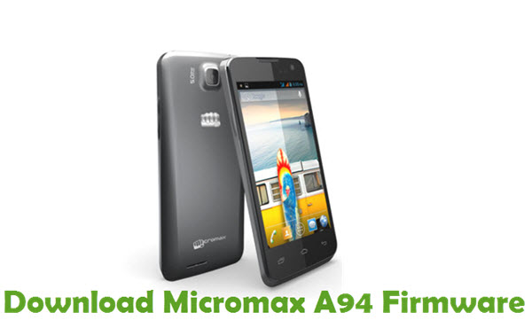 Download Micromax A94 Firmware