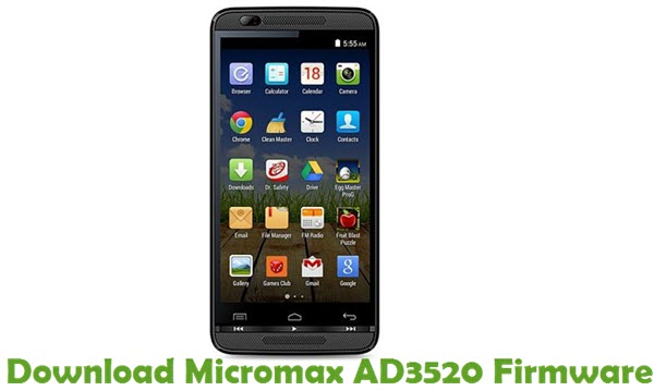 Download Micromax AD3520 Firmware