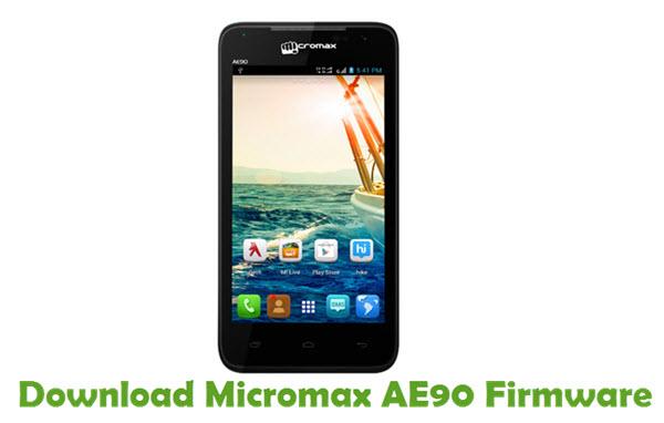 Download Micromax AE90 Firmware