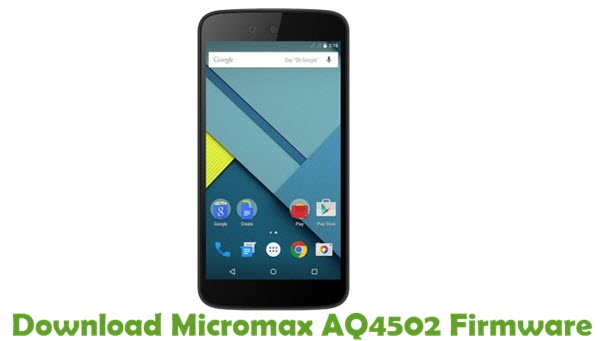 Download Micromax AQ4502 Firmware