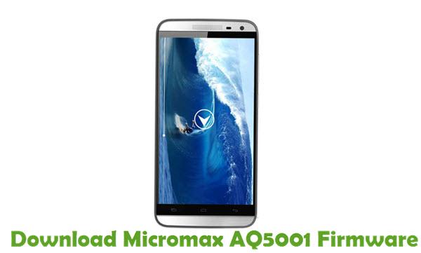 Download Micromax AQ5001 Firmware