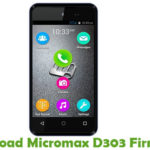 Micromax D303 Firmware