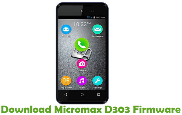 Download Micromax D303 Firmware