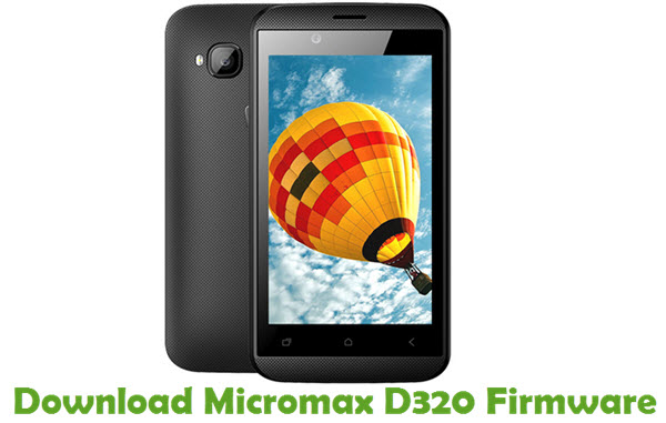 Download Micromax D320 Firmware