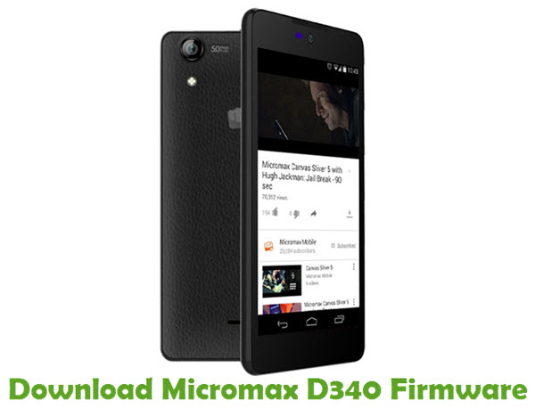 Download Micromax D340 Firmware