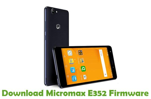 Download Micromax E352 Firmware