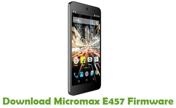 Download Micromax E457 Firmware