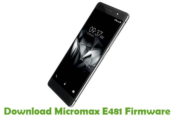 Download Micromax E481 Firmware