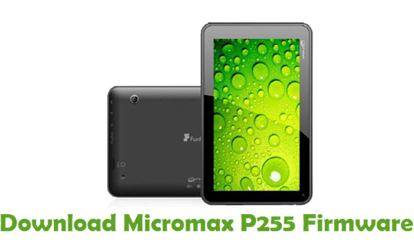 Download Micromax P255 Firmware
