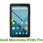Micromax P290 Firmware
