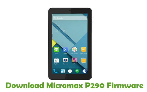 Download Micromax P290 Firmware