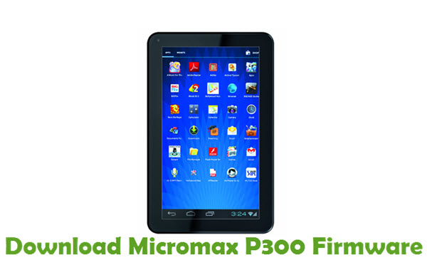 Download Micromax P300 Firmware