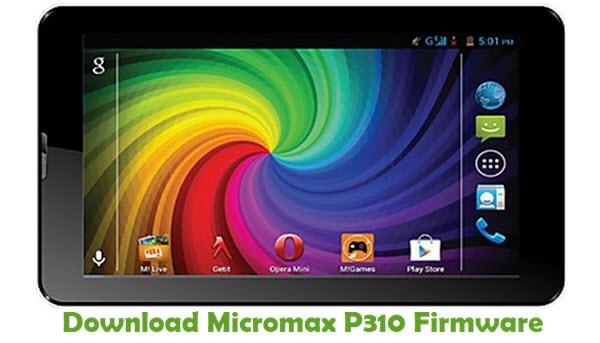 Download Micromax P310 Firmware