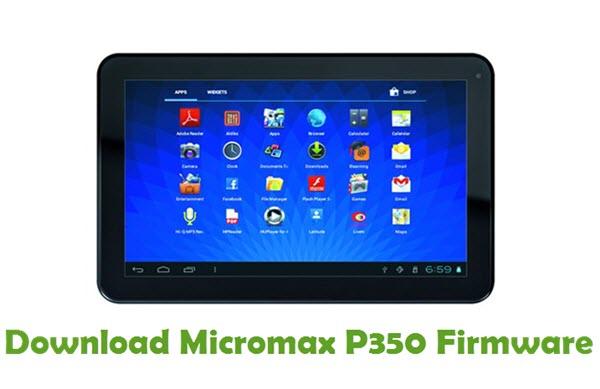 Download Micromax P350 Firmware