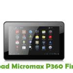 Micromax P360 Firmware