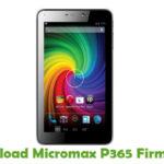 Micromax P365 Firmware