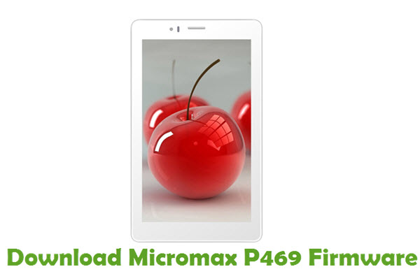 Download Micromax P469 Firmware