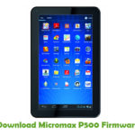 Micromax P500 Firmware