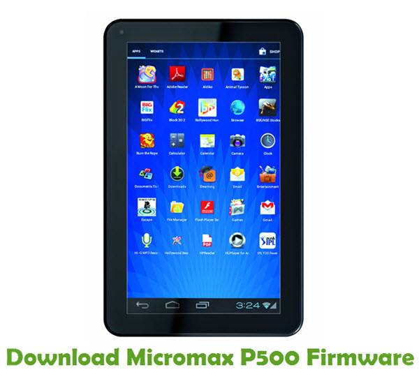 Download Micromax P500 Firmware