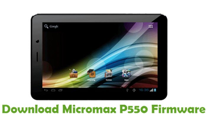 Download Micromax P550 Firmware