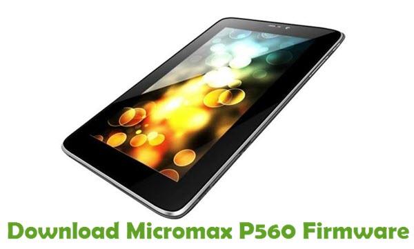 Download Micromax P560 Firmware