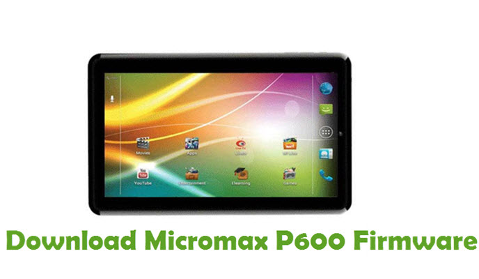 Download Micromax P600 Firmware