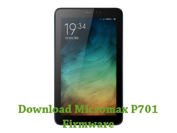 Download Micromax P701 Firmware