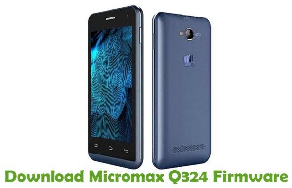Download Micromax Q324 Firmware